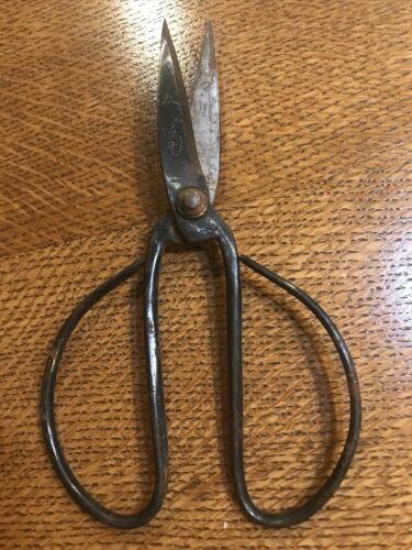 Antique Vintage Wrought Iron Scissors - $49.00