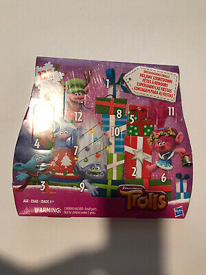Dream works Trolls Advent Calendar Christmas Holiday