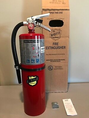 Brand New 10lb Buckeye Fire Extinguisher ABC Dry Chemical 4A80BC (2019) for sale  Waycross