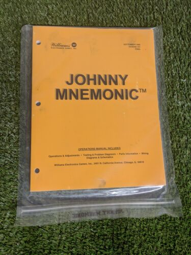 Johnny Mnemonic by Williams Manual