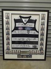 2007 Geelong framed / signed premiers jumper & cards Prospect Vale Meander Valley Preview