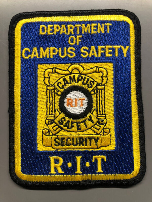 Rochester Institute Of Technology RIT Campus Safety Patch ~ New York