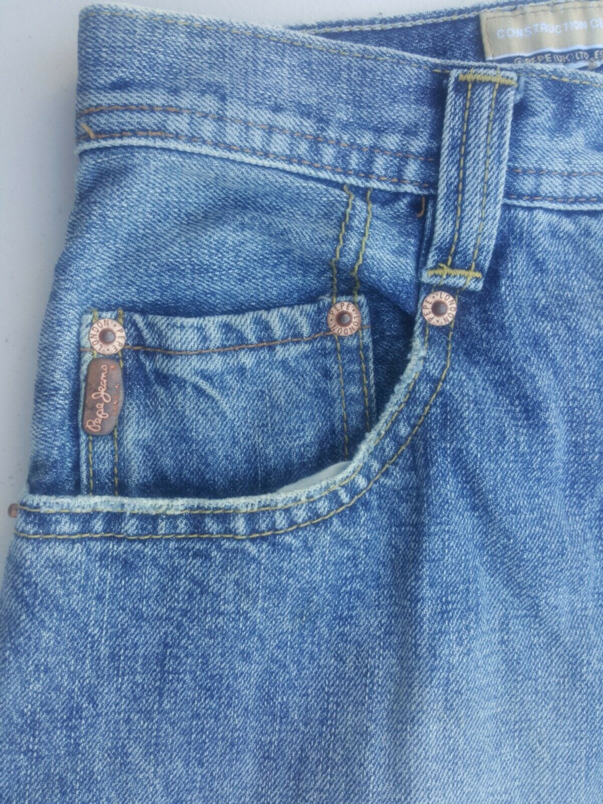 PEPE JEANS London Benny Mens/Boys/Youth Size 16 29x29 B15 Lot AA EUC Denim - $12.95