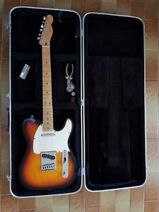 2001 Fender Telecaster MZ1 Sunburst