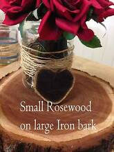 Timber slices for Rustic / Vintage wedding centrepieces Rockhampton 4700 Rockhampton City Preview