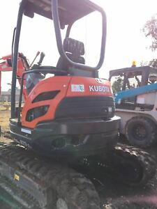 Excavator and Skid Steer Loader/bobcat Berkshire Park Penrith Area Preview
