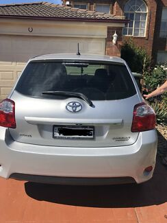 2011 Toyota Corolla Ascent hatch manual Roxburgh Park Hume Area Preview