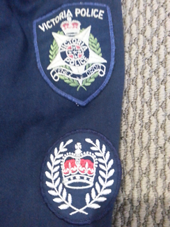 Victoria police obsolete overalls and jacket