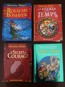 4 tomes Geronimo Stilton