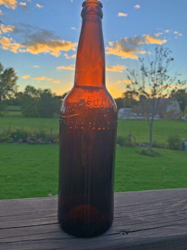 Early 1900s Leinenkugels Quart Beer Bottle