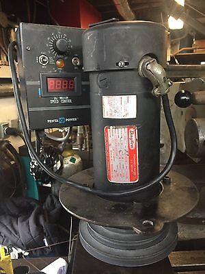 Bridgeport milling machine 120 volt single phase dayton dc Motor, and controller