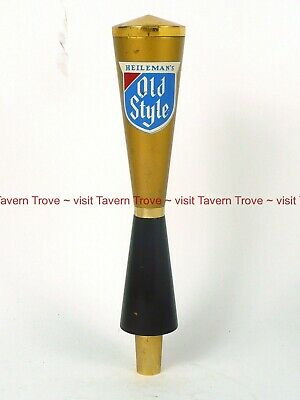 Scarce 1960s WISCONSIN Heileman OLD STYLE BEER Wood Tap Handle Tavern Trove