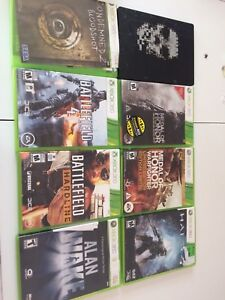 Jeux Xbox 360 lot divers