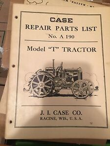 Various Case and Oliver manuals and brochures