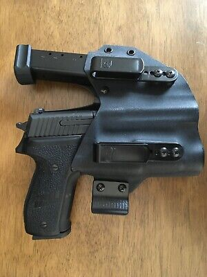 T-Rex Arms sidecar holster Sig Sauer P226 with Streamlight TLR1 weapon light