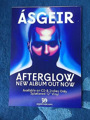 Asgeir - Afterglow    Promo poster (mint)