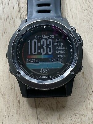 Garmin fenix 3 Sapphire Multisport Training GPS Watch