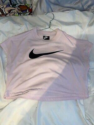 Nike Crop Top Pink S