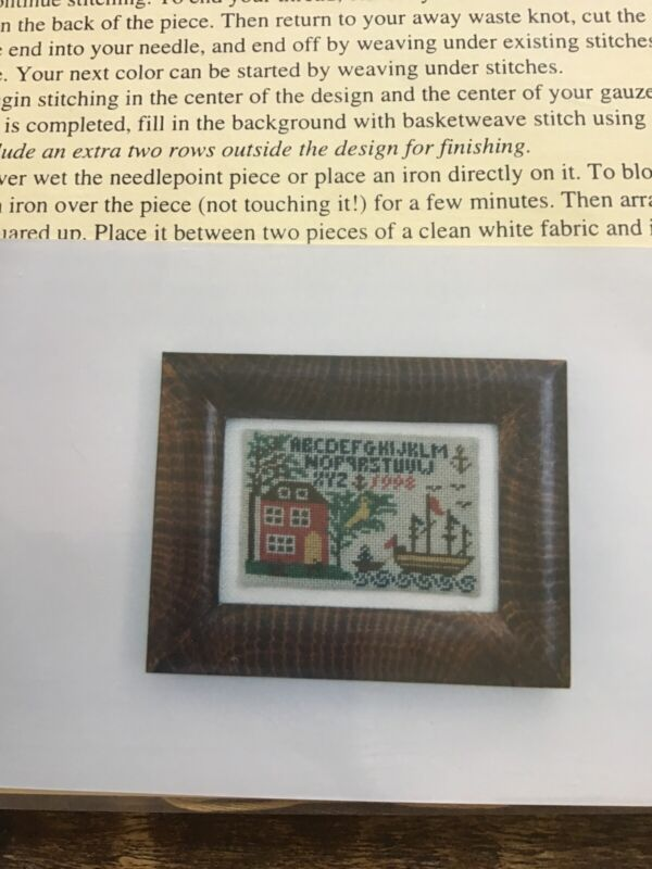 Threads Through Time Reproduction needlework Kit