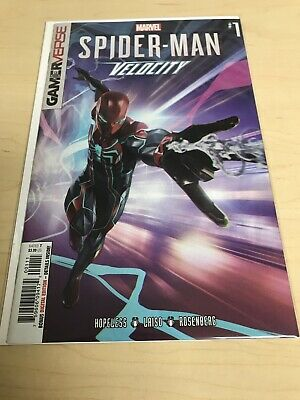 SPIDER-MAN #1 (-9.8) HOPELESS/MARVEL COMICS/VELOCITY/GAMER VERSE