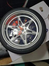 Car Logo Sign Wheel Tire Design Round Wall Clock #L