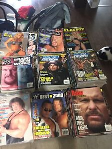 172 Wrestling Magazines Year 2000 to 2004