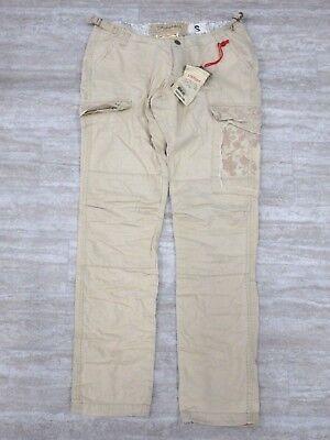NEW Da-Nang Women Pants Cargo Floral Embroidered PEBBL TWW1615696 X-SMALL XS Da Nang Embroidered Pant