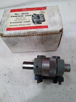 Atlas Craftsman 6 10 12 Lathe Carriage Stop Clausing 6810 Nice