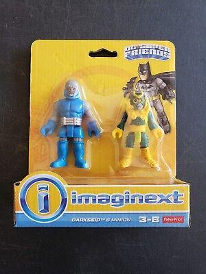 Usado, Imaginext DC SUPER FRIENDS Darkseid and Minion Villain Pack  segunda mano  Embacar hacia Argentina