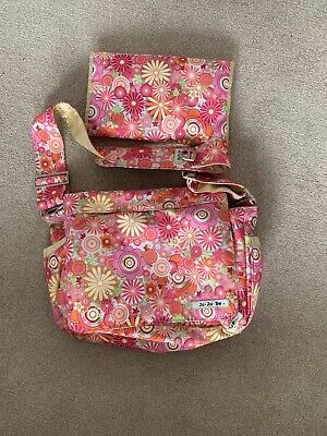 JU-JU-BE 'Zany Zinnias' - Be All Collection - Diaper / Baby Changing Bag