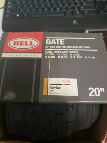 Bell 20-Inch BMX Bike Tire with KEVLAR, Black