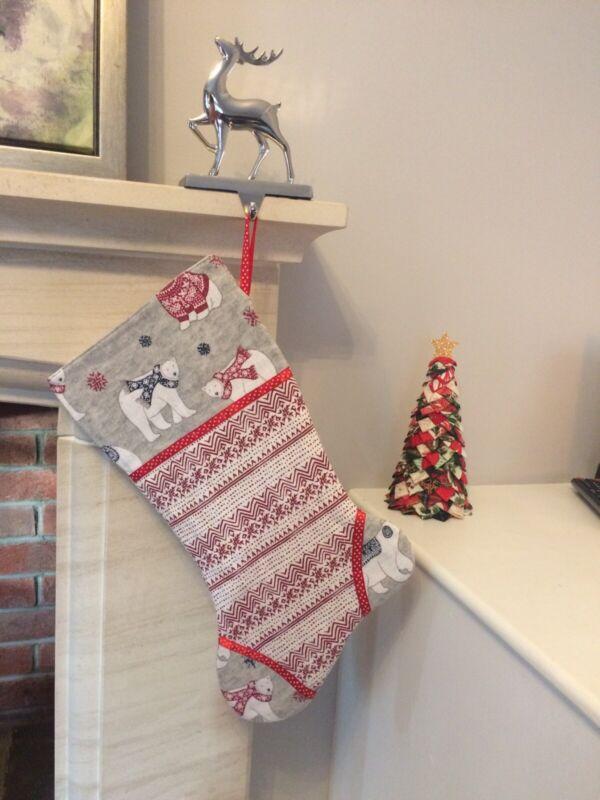 Handmade+Scandi+Quilted+Christmas+Stocking