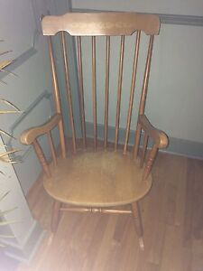 Old rocking chair - wood