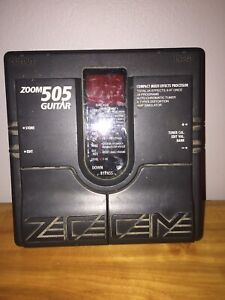 Guitar effect pedal. Zoom 505