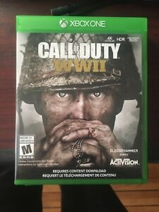 Call of Duty WW2 for Xbox one