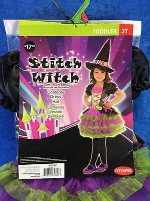 Stitch Witch Toddler Costume - Stitch Toddler Costume