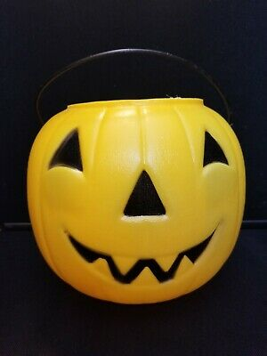 General Foam Halloween Jack O Lantern Pumpkin Blow Mold Trick Or Treat Pail #1
