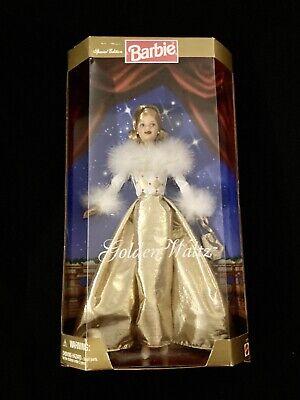 1998 Golden Waltz Special Edition Barbie Doll NIB