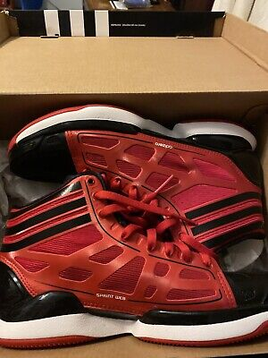 NEW Adidas D Rose Adizero CRAZY LIGHT Basketball Shoe in Black and White Sz 8