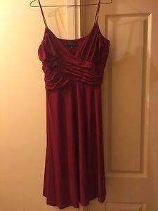 Liz Jordan red evening dress, size 16 Sheidow Park Marion Area Preview