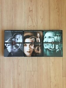 X Files seasons 1-3