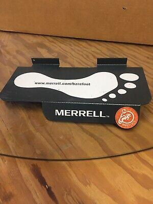 20 Nice Metal Merrell Slatwall Retail Display Shelves Shelf Shoe