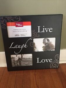 Photo frame wall hanging