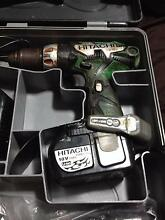 HITACHI 18V DRILL DRIVER LITHIUM ION DS 18 DL Pine Mountain Ipswich City Preview