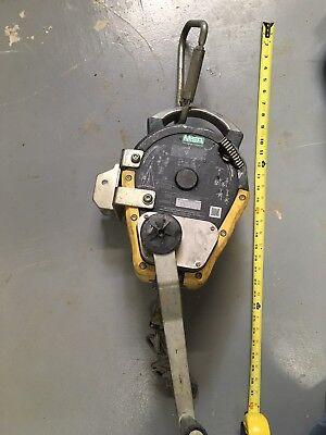 Msa 10158178 Workman Rescuer 50 Self-retracting Lanyard Tp
