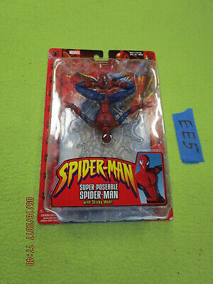 EE5 Marvel Legends Lot SUPER POSEABLE SPIDER MAN W/ STICKY WEB amazing classics](Sticky Web)