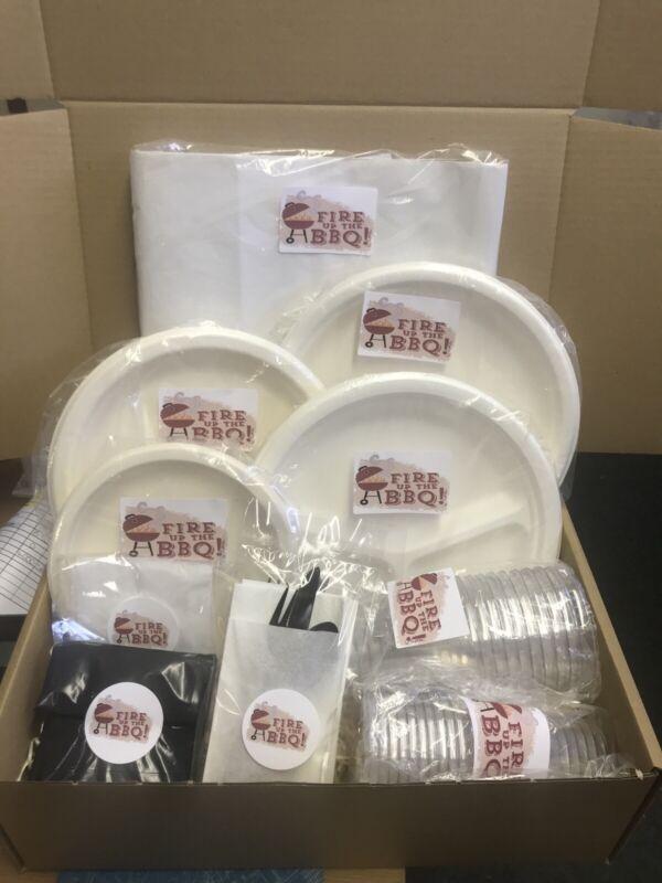 73 PCs BBQ Party Disposable Tableware  Set
