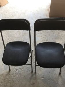Used Event folding  chairs