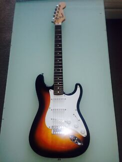 Fender squire bullet stray and fender squire amp Robina Gold Coast South Preview