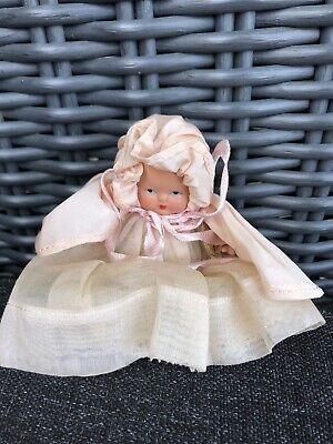 Nancy Ann Storybook Baby Wrist Tag Bisque